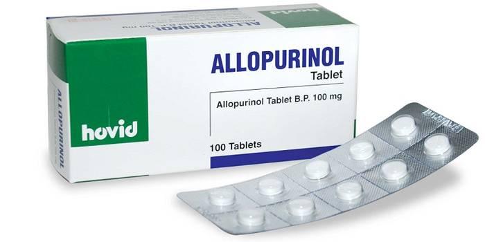 Лекарство от подагры Аллопуринол