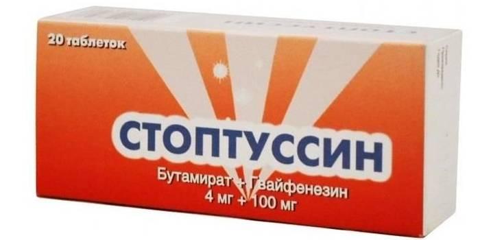 Препарат Стоптуссин