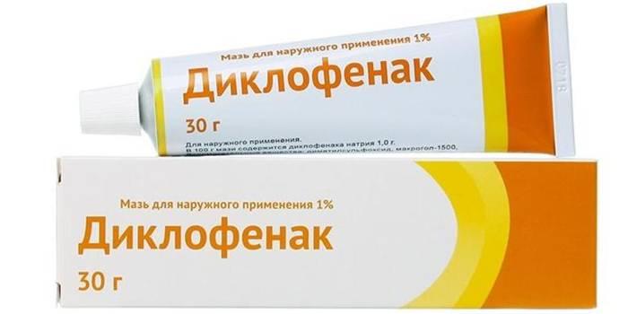 Мазь Диклофенак