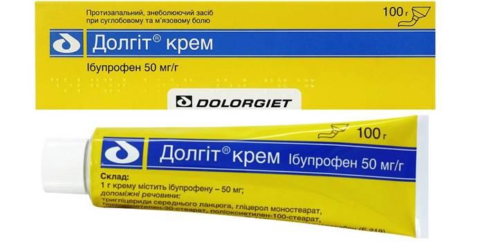 Противовоспалительный гель Долгит