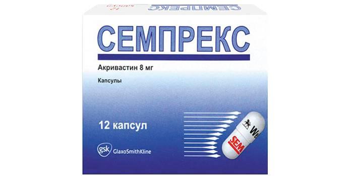 Акривастин (Семпрекс)