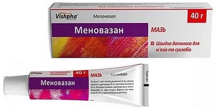Антисептик Меновазин