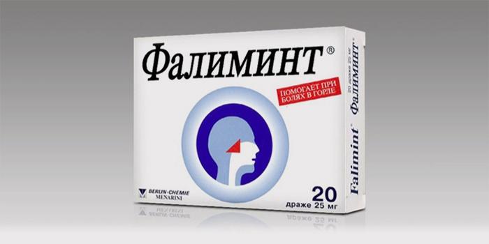 Леденцы Фалиминт от боли в горле