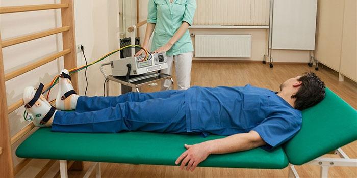 Физиотерапия при артрозе большого пальца ноги