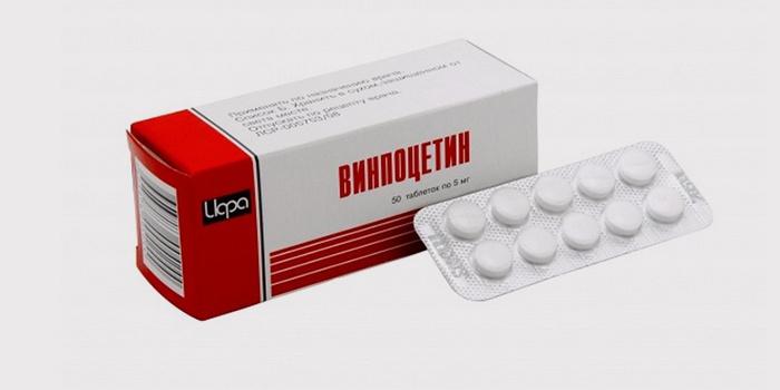 Винпоцетин от инсульта