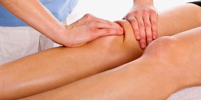 Техника массажа при артрозе колена