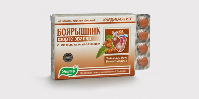 Таблетки с компонентами боярышника