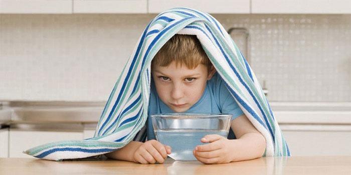 Домашняя ингаляция для ребенка