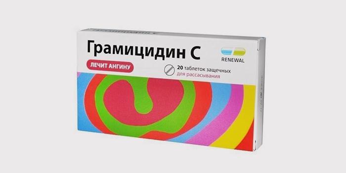 Таблетки Грамицидин
