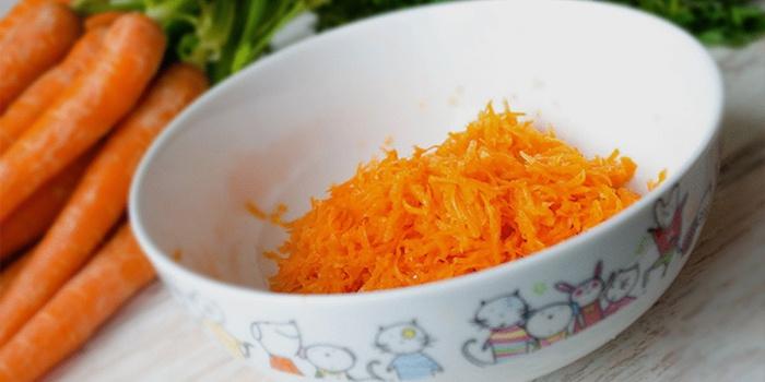 Свежая морковь