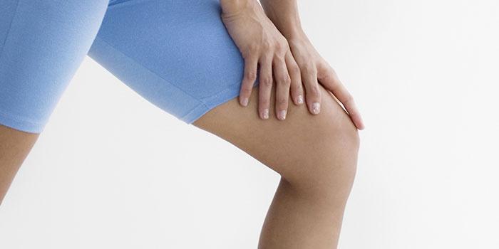 Женское колено