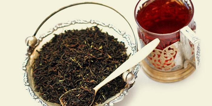 Чай из черных бобов