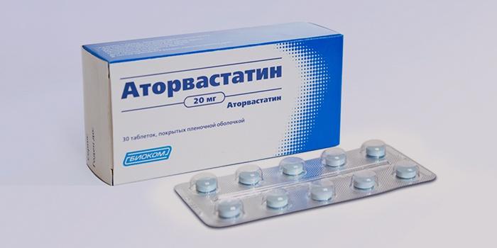 Аторвастатин от атеросклероза сосудов мозга