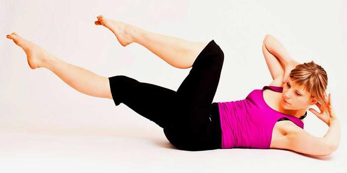 Движение ногами, имитирующие езду