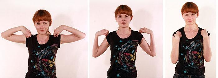 Круговые вращения плечевым суставом