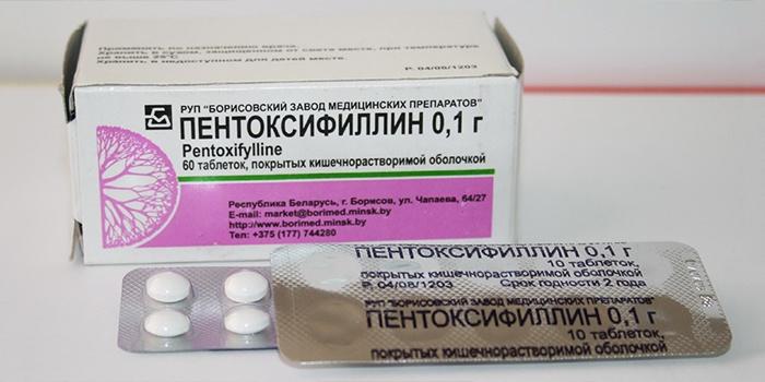 Пентоксифиллин для лечения инсульта