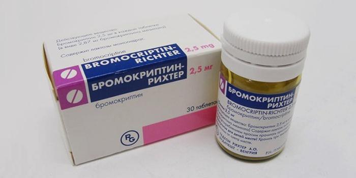 Препарат Бромокриптин