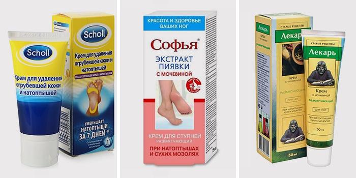 Препараты от натоптышей