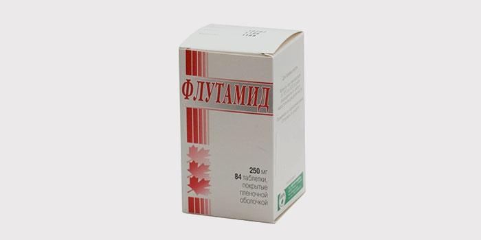 «Флутамид» - препарат, снижающий уровень тестостерона