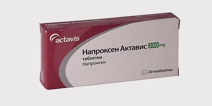 Обезболивающие таблетки Напроксен