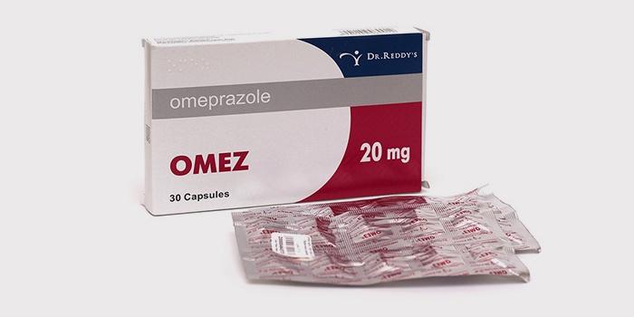 Таблетки Омез от изжоги