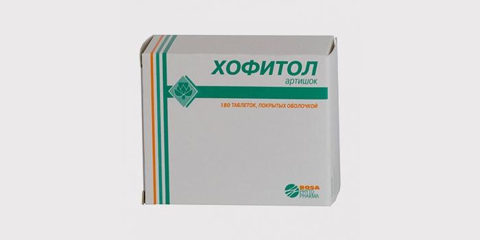 Хофитол - стимулирует функции сокращения желчных протоков