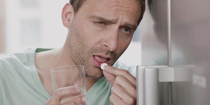 Таблетки от головной боли при похмелье