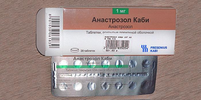 Анастрозол каби - противоопухолевый препарат