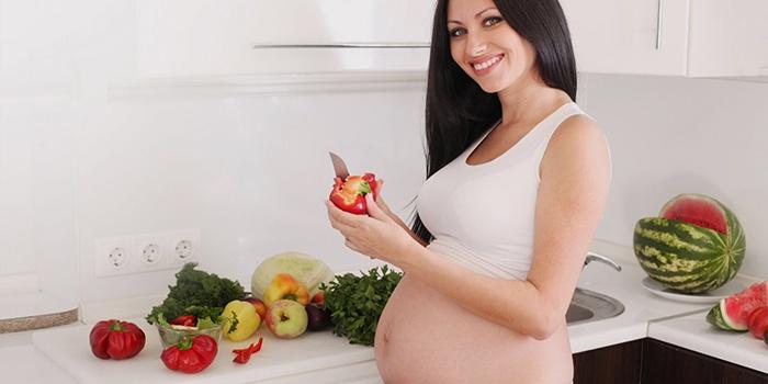 Беременная женщина с низким давлением