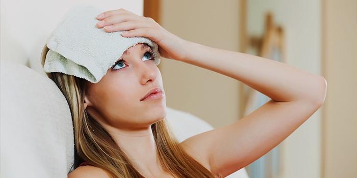 Компресс от головной боли