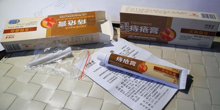 Китайские средства в упаковке
