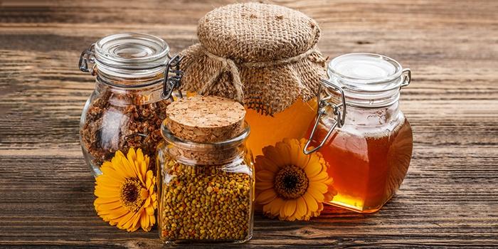 Мед, прополис и мумие для заживления тканей