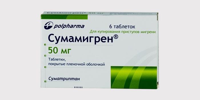 Таблетки Сумамигрен