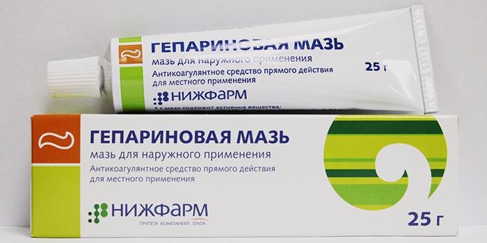 Гепариновая мазь для наружного применения