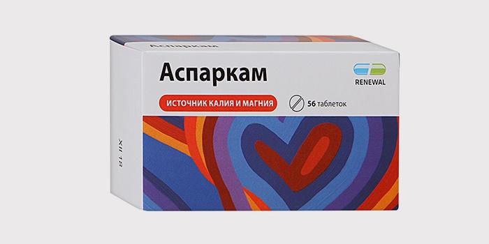 Препарат Аспаркам для похудения