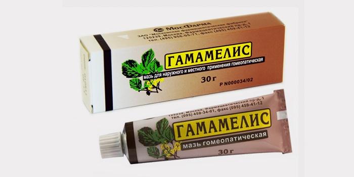 Гомеопатическая мазь от геморроя Гамамелис