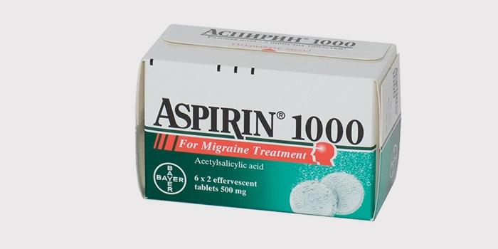 Аспирин 1000 от мигрени