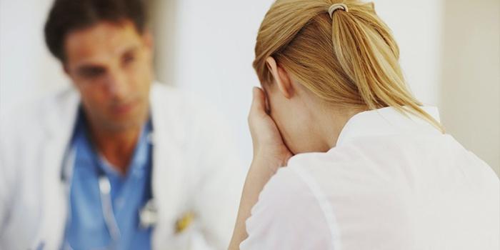 Пациентка и врач