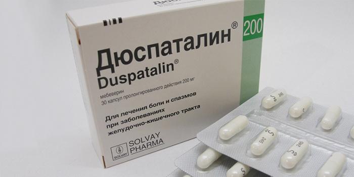 Таблетки Дюспаталин