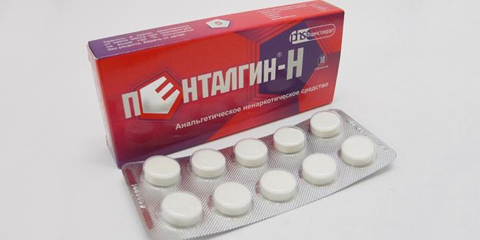 Таблетки Пенталгин