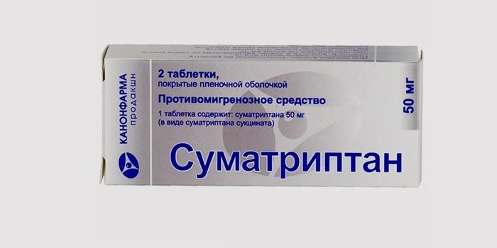 Лекарство Суматриптан от головокружения