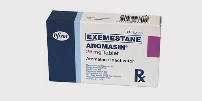 Экземестан - стероидный ингибитор ароматазы для снижения эстрогена