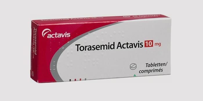Торасемид от хронической сердечной недостаточности