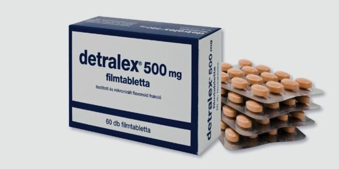Детралекс - таблетки для укрепления сосудов