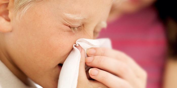 слизистые выделения из носа у детей