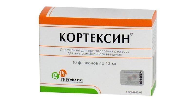 Раствор Кортексин