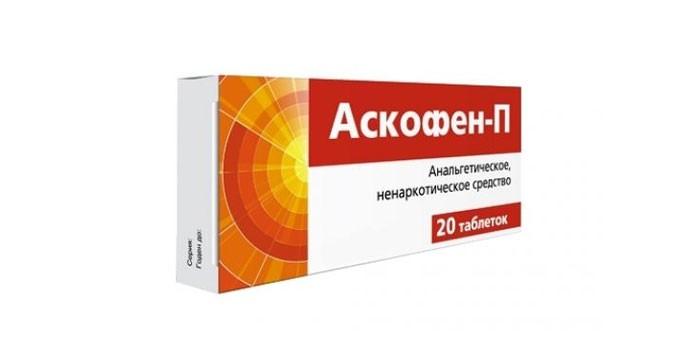 Таблетки Аскофен