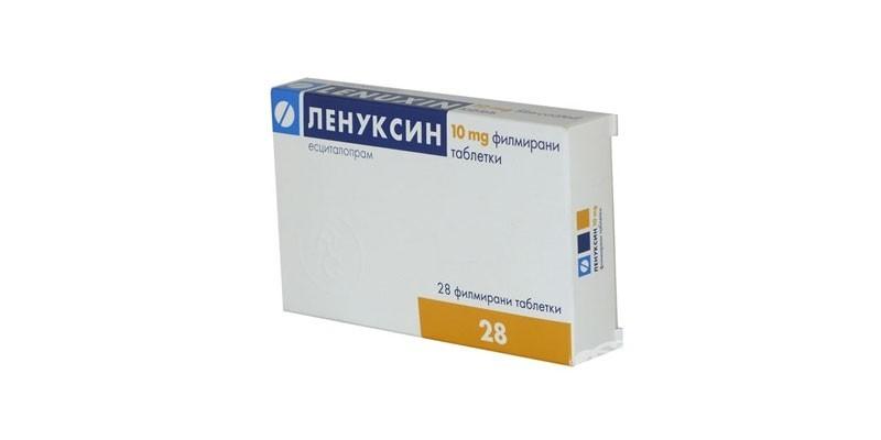 Таблетки Ленуксин