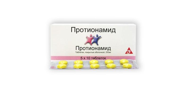 Таблетки Протионамид