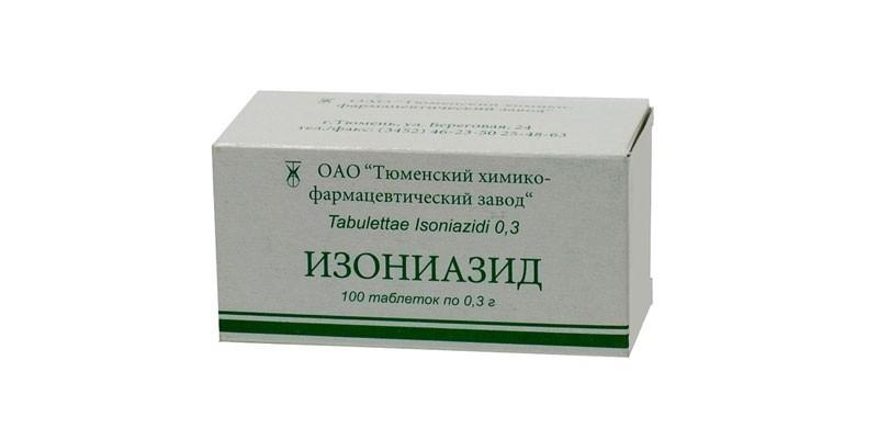 Таблетки Изониазид